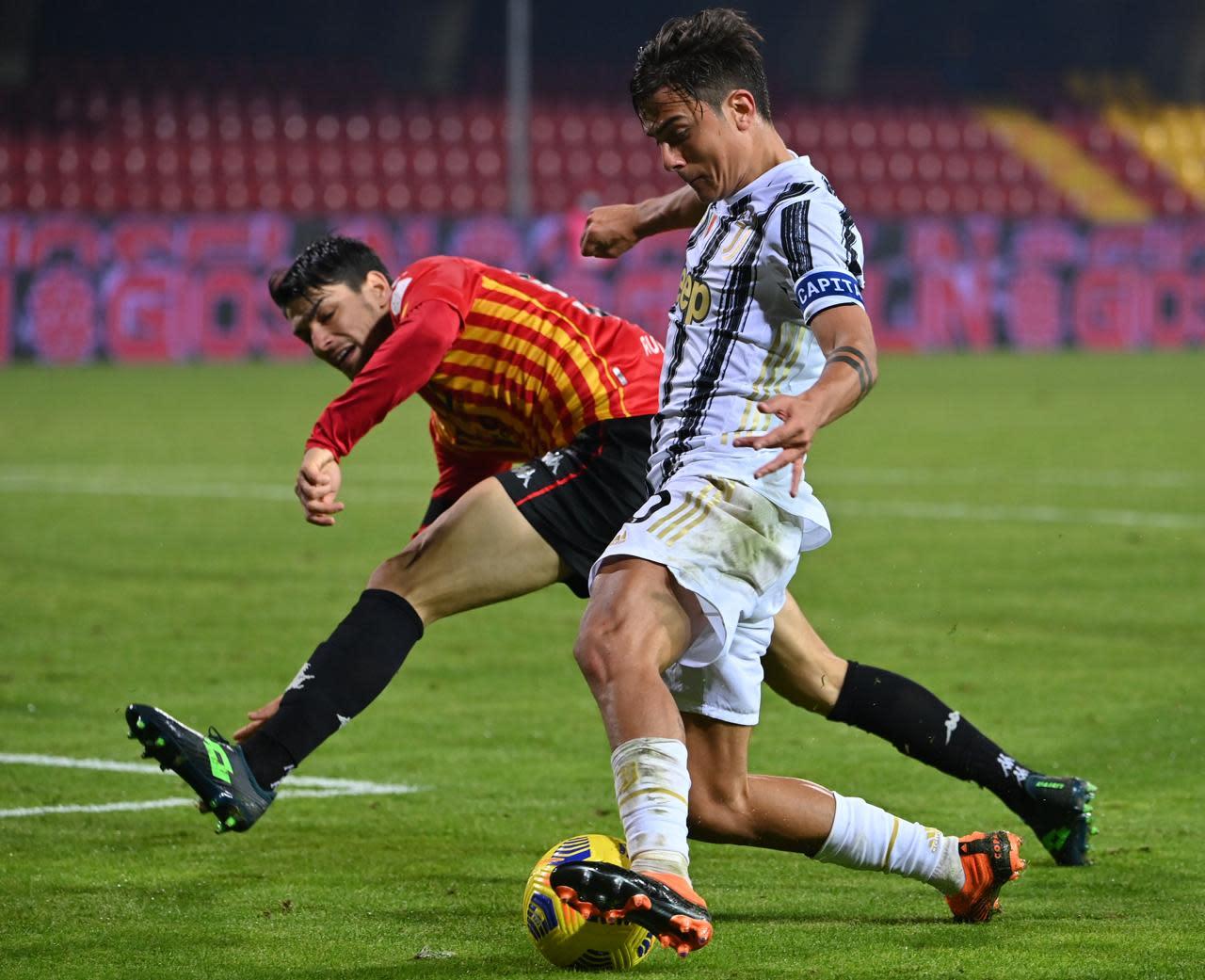 Calcio, alla Juve non basta Morata: 1-1 col Benevento