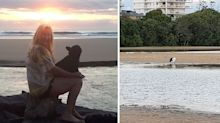 Woman taking photos at family beach makes 'horrifying' discovery
