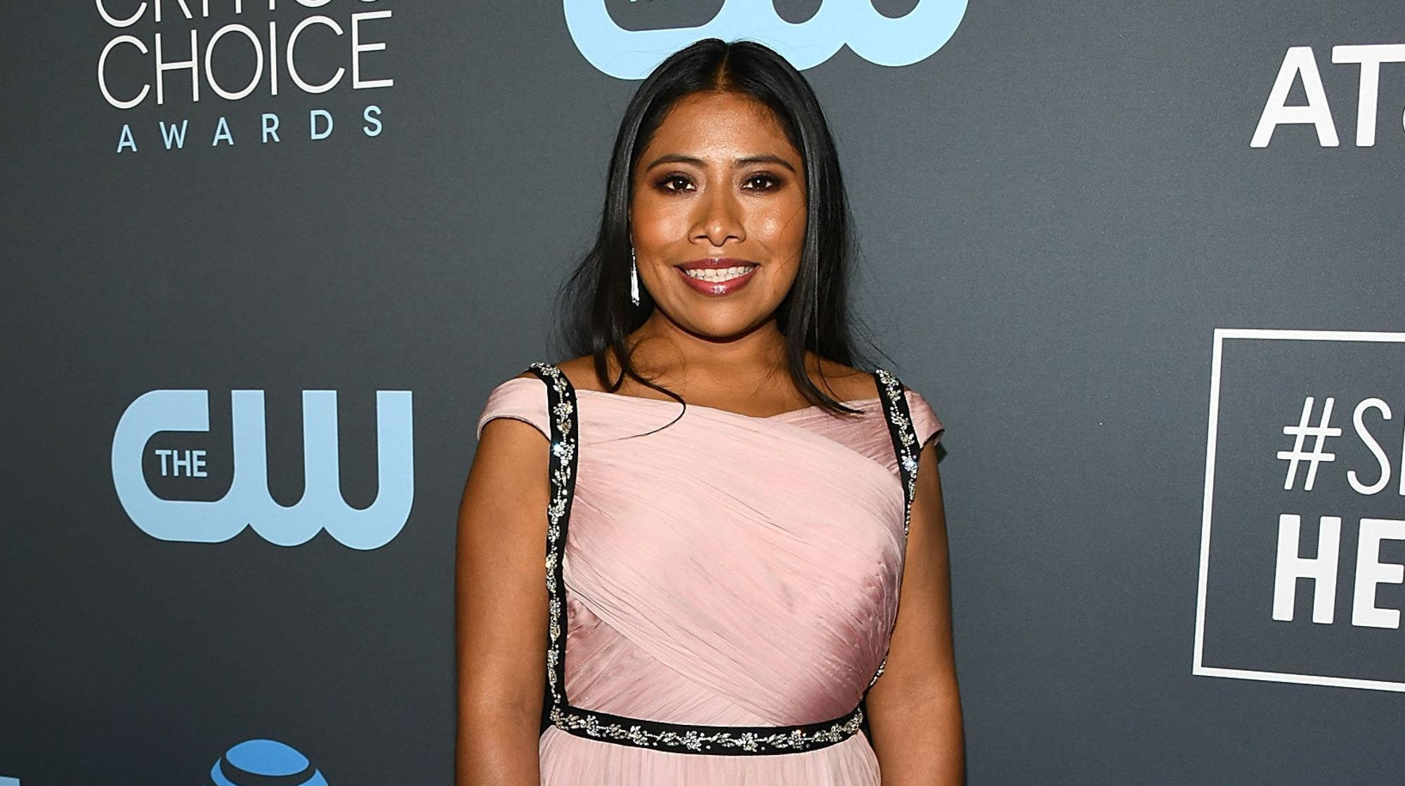 Yalitza Aparicio Of 'Roma' Is First Indigenous Woman Nominated For Best Actress Oscar