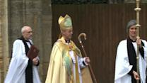Archbishop of Canterbury enthroned to lead Anglicans