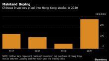 香港再現大規模抗議活動 內地投資者卻以前所未有的步伐買入港股