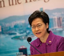 Hong Kong hits back at 'shameless' U.S. sanctions on leader Carrie Lam