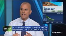 Goldman upgrades Citi to buy, sees 21% upside potential
