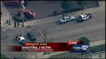 Police investigate shooting in 5100 block of North Avenue