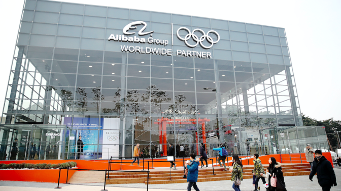 Alibaba makes big global push with the Olympics