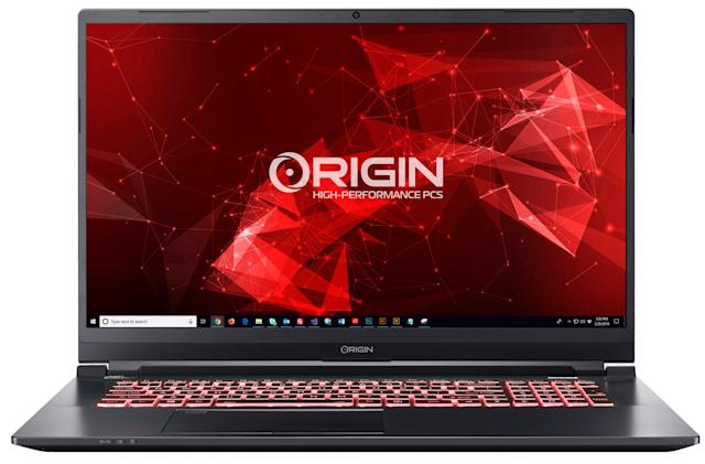 Origin's new 17-inch laptops pack RTX Super graphics in five-pound frames