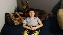 Niño vende todos sus juguetes para salvar a su perro