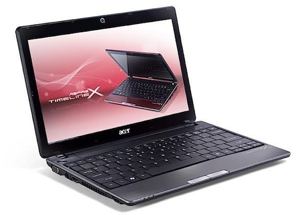Acer Aspire TimelineX series updated with new processor options