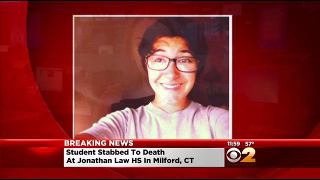 16-Year-Old Girl Stabbed To Death At Connecticut High