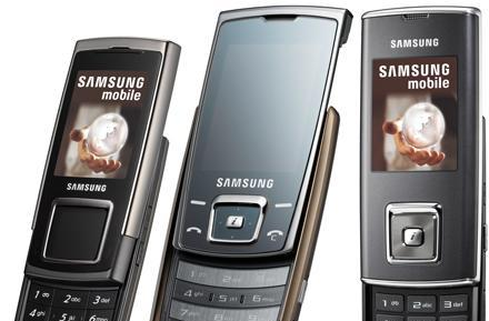Samsung unleashes SGH-E950, SGH-E840, and SGH-J600