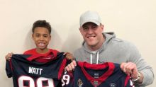 #FeelGoodFriday: J.J. Watt gifts jersey to student who had to make one from scratch