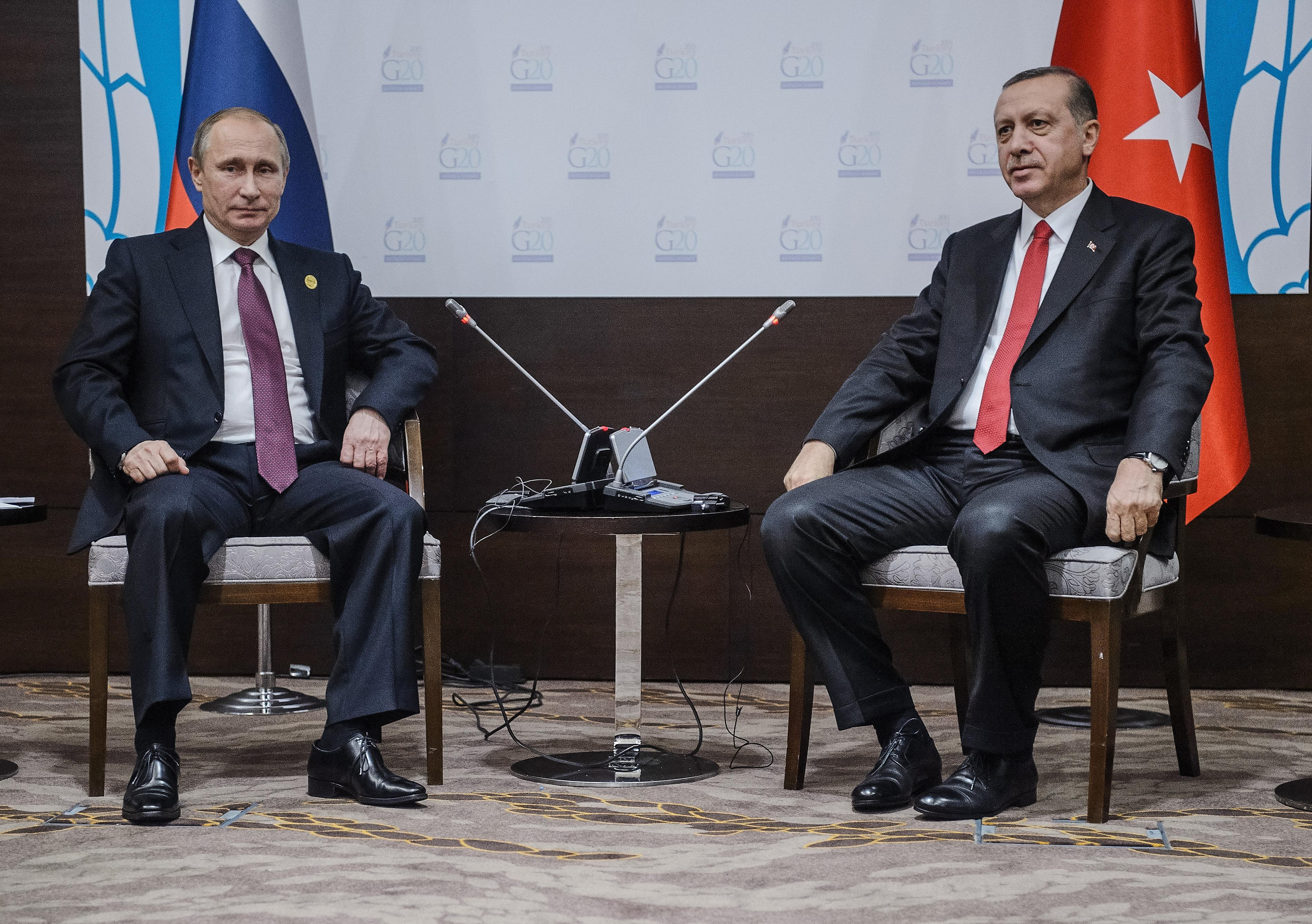 Turkish President Apologizes to Putin for Downing of Russian Military Jet