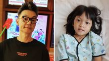 Beware of scammer soliciting donations using our daughter's photo, says Mark Lee and wife