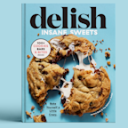 Pre-Order The Delish Insane Sweets Cookbook!