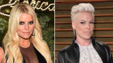 Pink Dyes Daughter's Hair in Support of Jessica Simpson Who Was Mom-Shamed for Coloring Kid's Locks