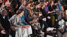 Victoria Beckham's family turn out in style to support her at London Fashion Week