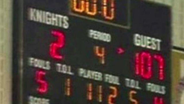 Blow out: High school team beats opponent by 105 points