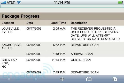 Apple tells UPS to stop overachieving, puts brakes on early iPhone 3G S deliveries