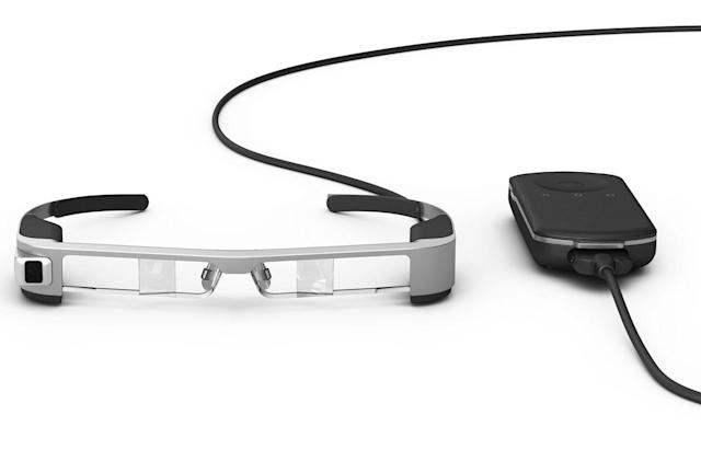 Epson unveils its third-generation Moverio AR glasses at MWC