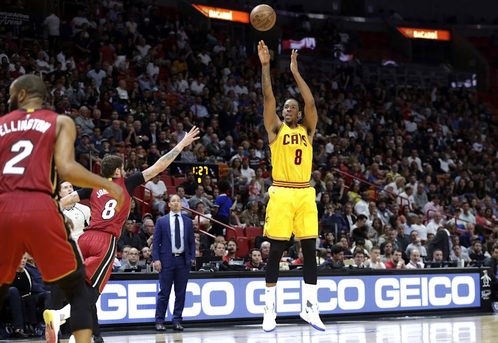 Channing Frye's shooting helps boost Cleveland's offense, but can he stay on the floor against the Warriors? (AP)