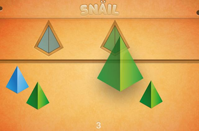 Snail game: Matching for tots