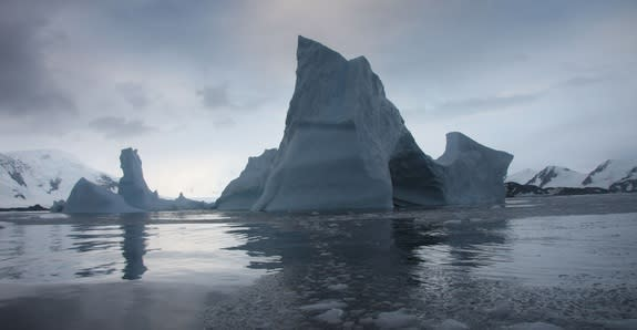 Antarctic Ice Shelf in Last Throes of Collapse