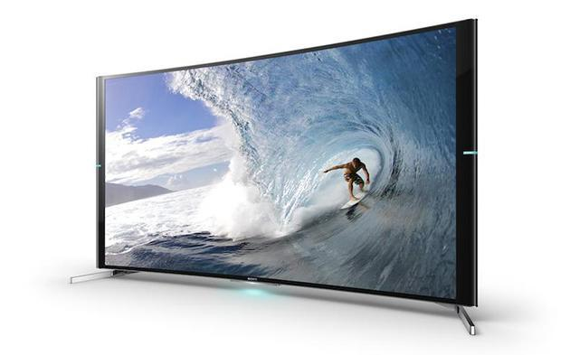Sony joins Samsung and LG with its first curved 4K TVs