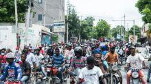 Hunderte Polizisten demonstrieren in Haitis Hauptstadt