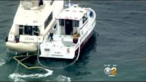 Coast Guard Assists Boat Taking On Water In San Pedro