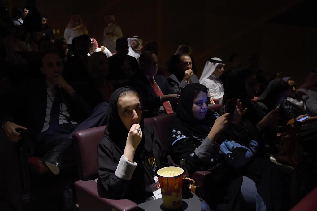 Saudis currently splurge billions of dollars annually to see films and visit amusement parks in neighbouring tourist hubs like Dubai and Bahrain (AFP Photo/Fayez Nureldine)