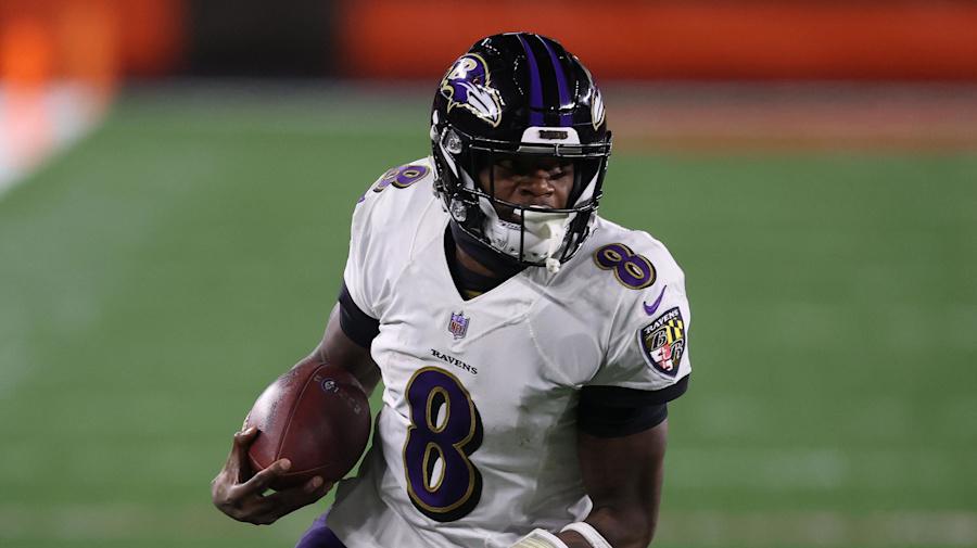 Watch live: Can Lamar lead Ravens past Bills?