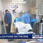 COVID hospitalizations increase, taking emotional toll on nurses on frontlines