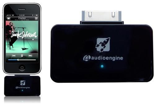 Audioengine puts wires out of work with AW2 wireless iPod adapter