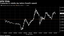 Stocks Climb With U.S. Yields Before Powell Speech: Markets Wrap