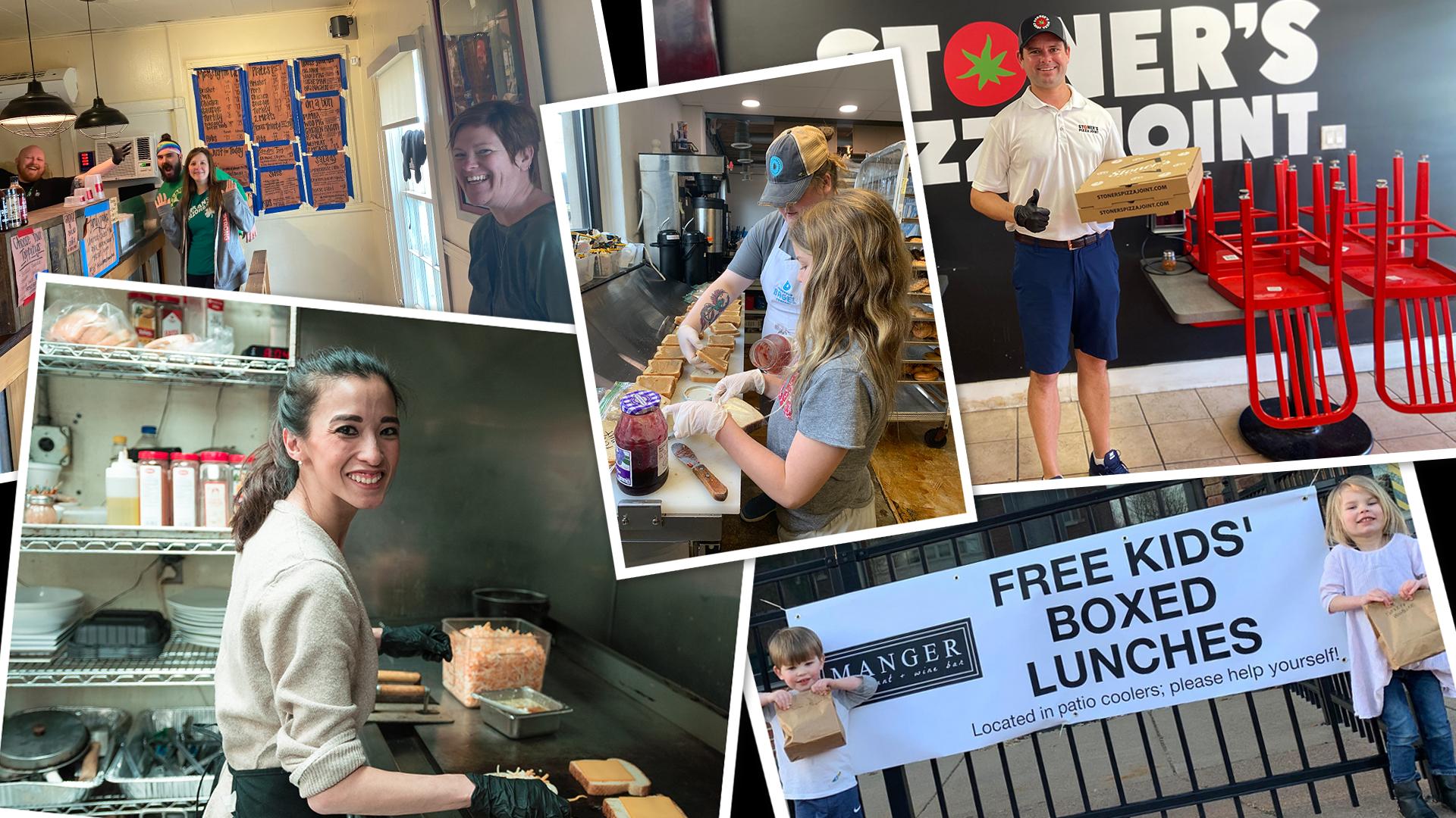 Restaurants feed kids for free during coronavirus pandemic