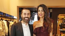 Amal Clooney is a knockout in a one-shoulder Giambattista Valli jumpsuit