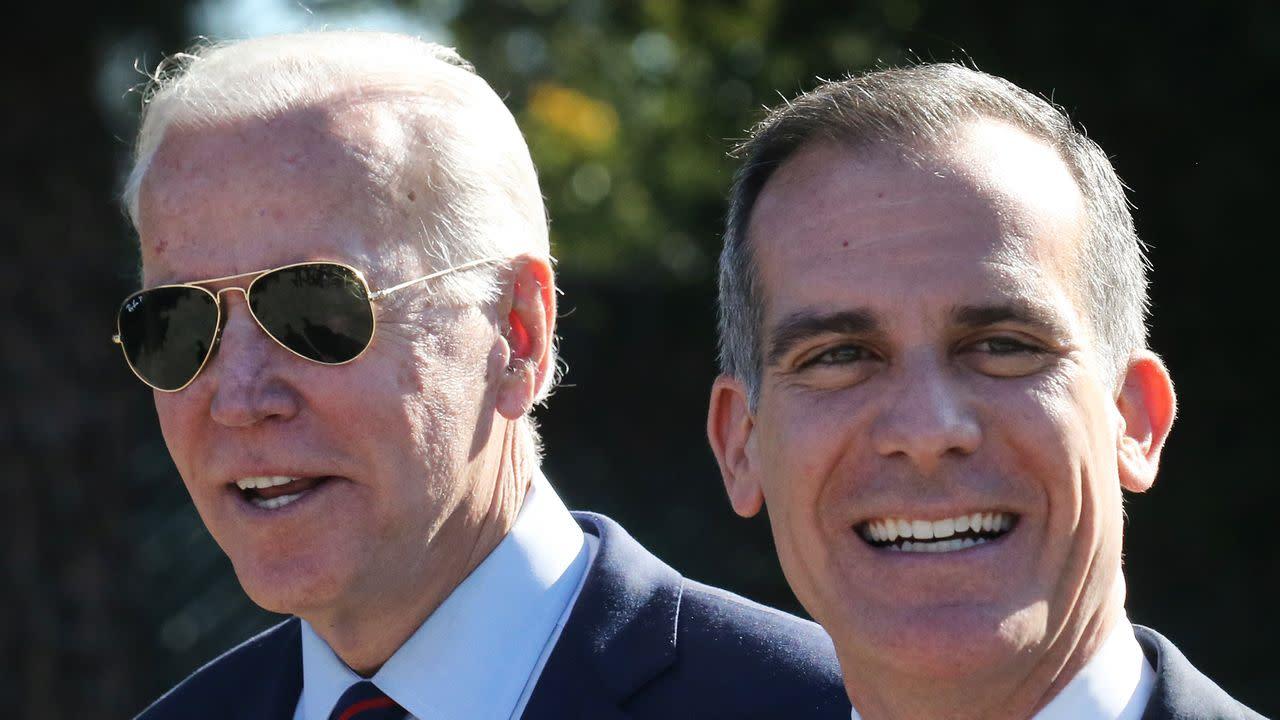 Biden nominates Eric Garcetti as ambassador to India