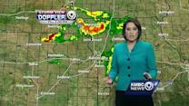 Hail, damaging winds possible with afternoon storms