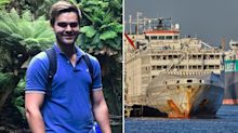 Aussie dad missing after ship capsizes in East China Sea