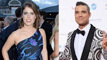 Robbie Williams' daughter will reportedly be Princess Eugenie's flower girl