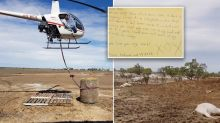 Mum moved to tears by children's touching letter after floods wipe out cattle