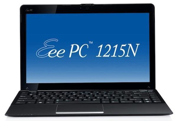 ASUS Eee PC 1215N with NVIDIA Ion and dual-core Atom D525 is a netbook powerhouse