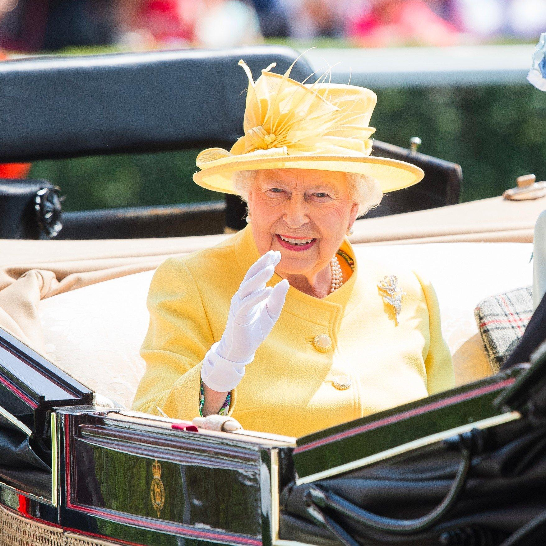 Queen Elizabeth will only wear one colour when it comes to