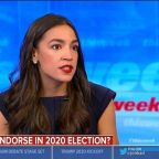 Alexandria Ocasio-Cortez says it's 'too early to endorse' presidential candidate