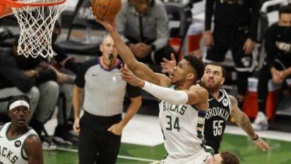 Basket - NBA - Milwaukee recolle à 2-2 contre les Nets qui ont perdu Kyrie Irving