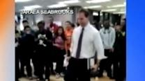 Teacher Joins Student Dance Prank With an Irish Jig