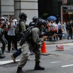 Hong Kong protests: 16 arrested as police firing pepper pellets clash with demonstrators protesting against China's National Security Bill
