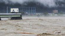 日本九州暴雨成災!水淹熊本、鹿兒島 至少2死13人失蹤