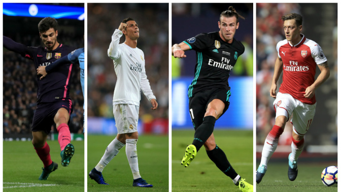 Football Transfer Gossip: Ronaldo 'wants Bale out', Ozil 'set for January Inter switch',