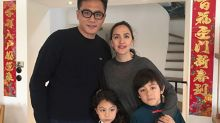 Liu Ye brings family back to France for New Year